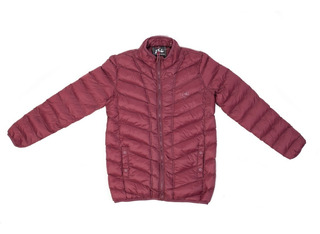 Campera De Hombre Rusty Comma 2 Jacket Bordo ( Del S Al 3xl)