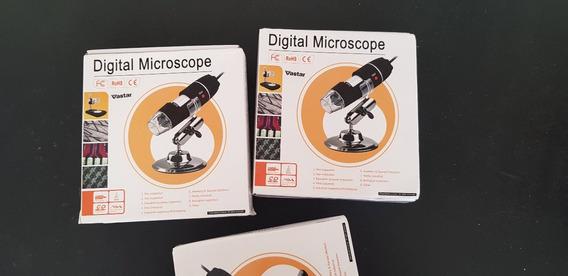 Microscópio Digital Endoscópio Câmera Microscopio Lupa 1600x