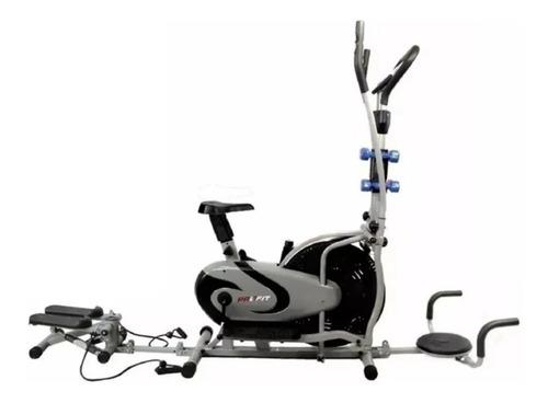 Elíptica Multifuncional Combo Bicicleta Twister Pesas Profit