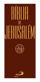 Kit 02 Unid Bíblia De Jerusalém Cp Flexivel+ Capa Plástica