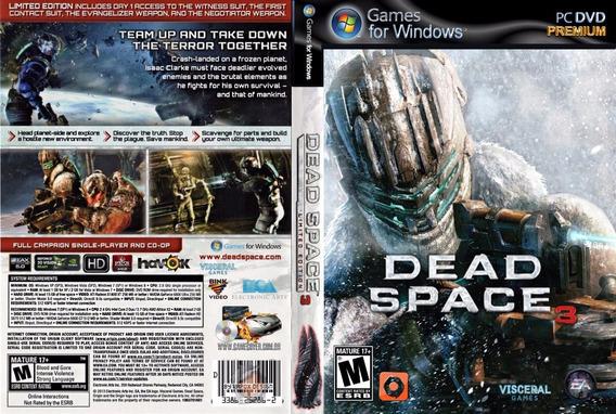 Dead Space Trilogia Pc (mídia Física)