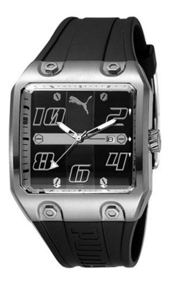 Relógio De Pulso Puma 96094 Preto Masculino 3atm Original