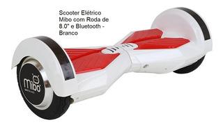 Scooter Elétrico Com Roda De 8.0 E Bluetooth - Cores