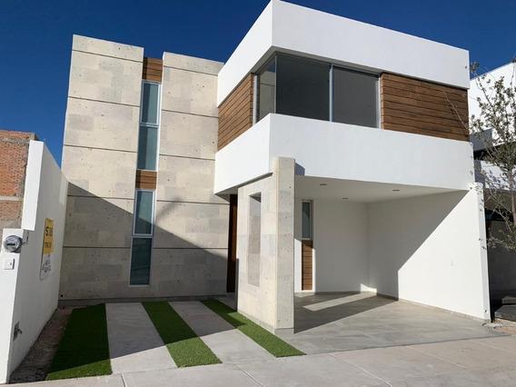 Moderna Casa Excelentes Acabados En Loretta