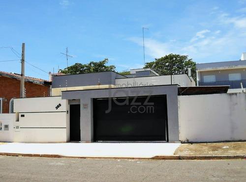 Moderna Residência Térrea 3 Dormitórios, 188m2 R$901.000 - Minimalista  Jardim Santa Genebra Ii - Barão Geraldo, Em Campinas. - Ca4249