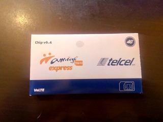 Cinco Chip Express Telcel V6.4 R7 Lada Puebla