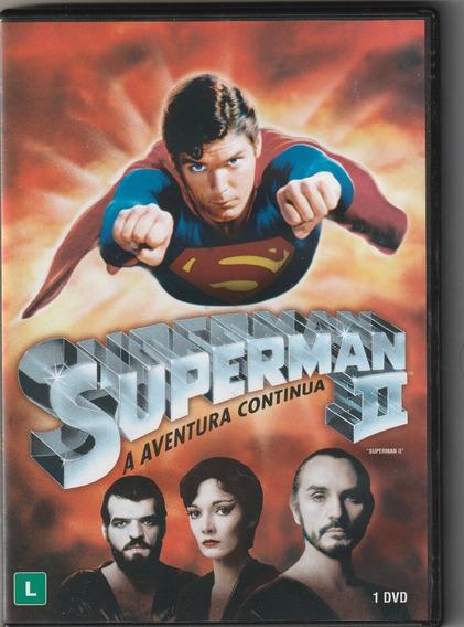 Dvd Superman 2 - A Aventura Continua ( Dublado E Lacrado)