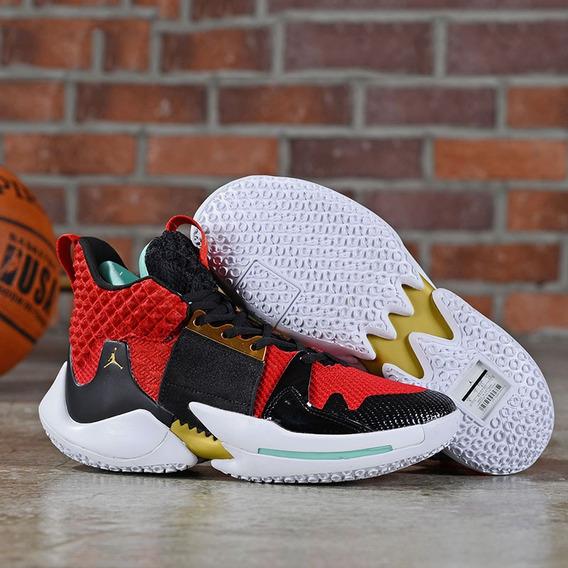 Tenis Nike Air Jordan Why Not Zer0.2 Westbrook Frete Gratis
