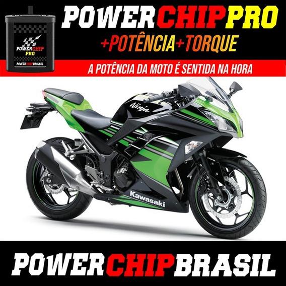 Chip De Potência Moto Kawasaki Ninja 300abs 39cv +3cv +12%tq