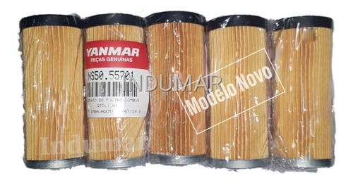 Elemento Filtro Diesel Motor Yanmar C/05 Unidades Ns50/90/11