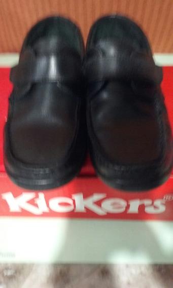 Zapatos Kickers N° 35 Para Niños