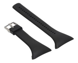 Pulseira Silicone Relógio Smartwatch Polar Ft7 Preta Adulto