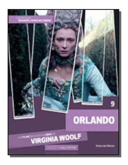 Dvd + Livro Orlando - Virginia Woolf - Sally Potter - Vol 9