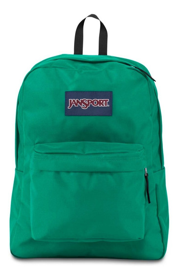 Zonazero Mochila Jansport Superbreak Varsity Green