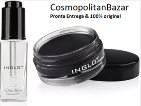 Combo Inglot Duraline + Delineador Gel 77 Imperdível Promo