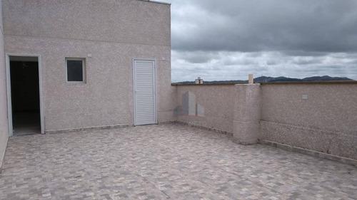 Cobertura Com 2 Dormitórios À Venda, 105 M² Por R$ 390.000 - Vila Nossa Senhora Das Vitórias - Mauá/sp - Co0033