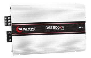 Modulo Taramps Ds-1200x4 1200w Rms 4 Canais Amplificador