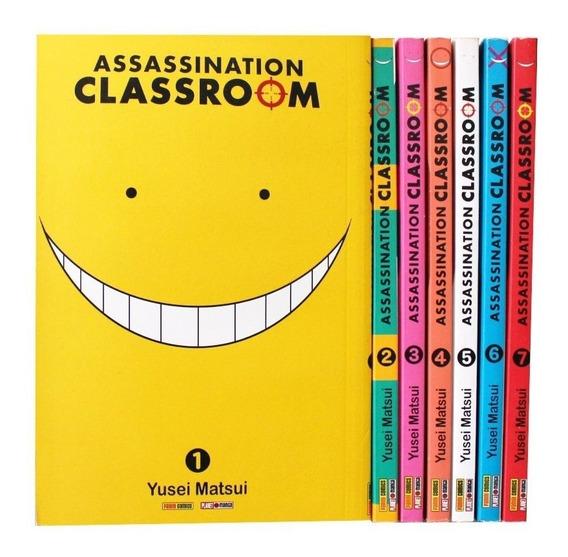 Mangá Assassination Classroom #01 - 07 Ótimo Estado