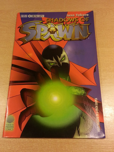 Shadows Of Spawn Planeta De Agostini N° 4 Juzo Tokoro 2000