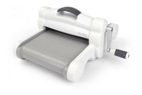 Imagem 1 de 2 de Sizzix - Máquina De Corte Branca Tamanho A4 - Plus  - Big Sh