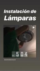 Instalación De Lamparas, Abanicos De Techo Y Tv