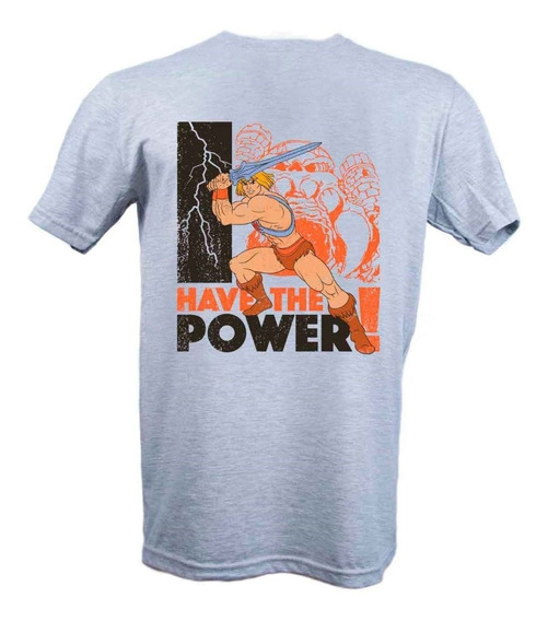 Remera, Motu He-man I Have The Power Licencia Oficial