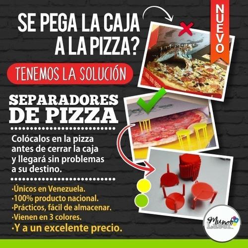 Separadores De Pizza Plásticos, Entrega Inmediata