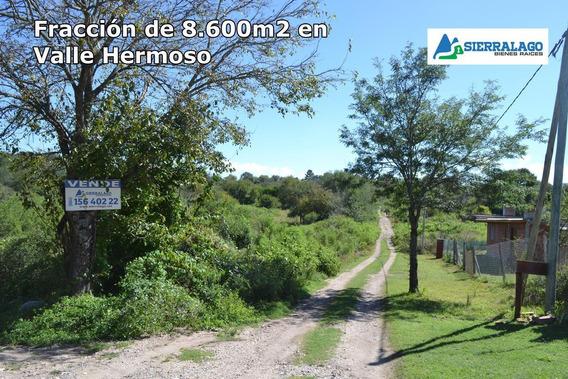 Fracción De 8.660m2 - Terreno - Valle Hermoso