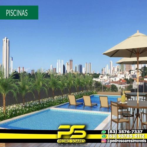 Apartamento Com 3 Dormitórios À Venda, 86 M² Por R$ 349.490 - Bairro Dos Ipês - João Pessoa/pb - Ap2923