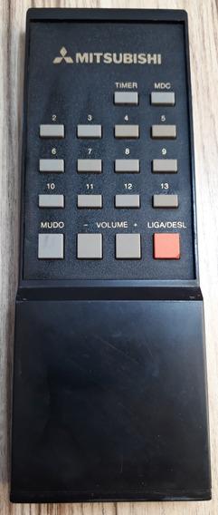 Controle Remoto Mitsubishi Tv Tubo ( T E S T A D O) Original