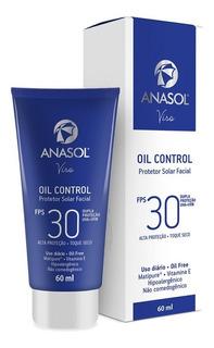 Anasol Protetor Solar Facial Oil Control Fps 30 60 Ml