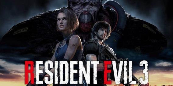 Resident Evil 3 Remake Pc Steam Offline Ativação Imediata!