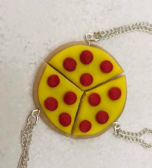 Collar De Pizza Para Tres