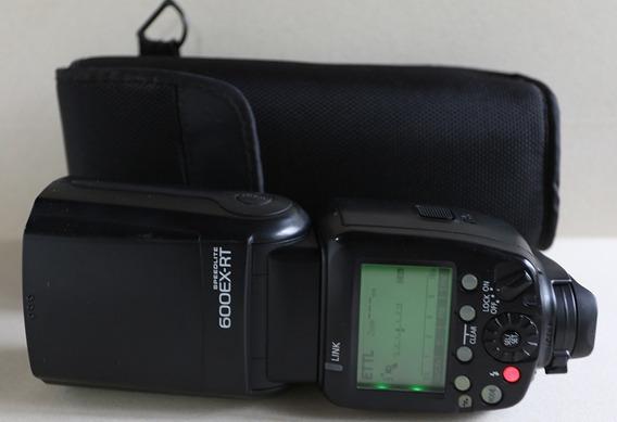 Flash Canon Modelo 600ex-rt