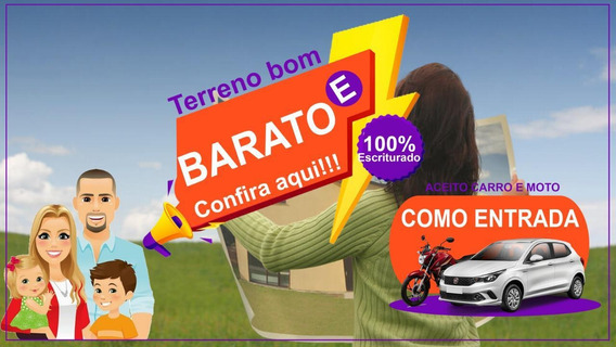 125c- Terreno Com 20% De Desconto, Avista!!