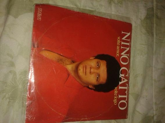 Lp Vinil Nino Gatto 1982 Volte Amor Volte Logo