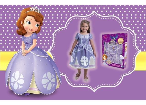 Fantasia Luxo Princesa Sofia