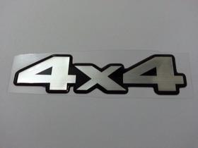 Adesivo Resinado 4x4 L200 Outdoor Sport Gls Hpe Mitsubishi