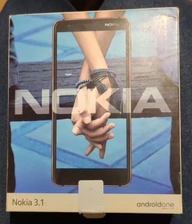 Celular Nokia 3.1 Android One 16gb 2gb Ram