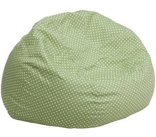 Flash Muebles De Gran Tamaño Green Dot Silla Del Bolso De Ha