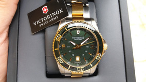 Relógio Victorinox Swiss Army Maverick Gs 241605 Green Dial