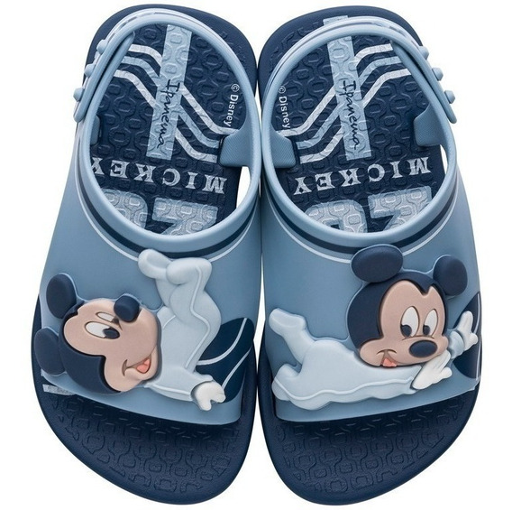 Chinelo Infantil Unissex Masculino Love Disney Mickey 26111