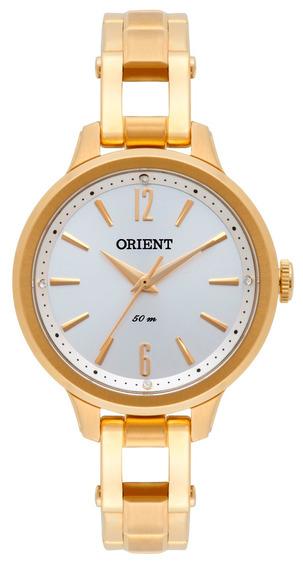 Relógio Orient De Fábrica, Original, Dourado, Fgss0065 S2kx