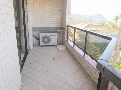 Apartamento Com 3 Dormitórios À Venda, 135 M² - Tombo - Guarujá/sp - Ap4921