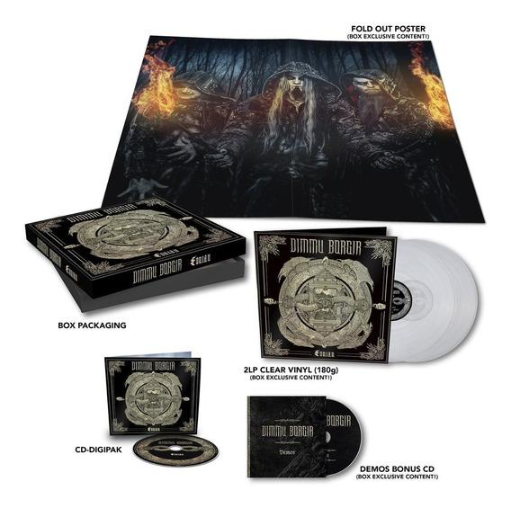 Dimmu Borgir - Eonian Box Cd + Lp + Bonus + Pronta Entrega