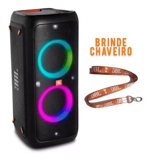 Caixa Portátil Jbl Partybox 300 Bluetooth + Brinde Chaveiro