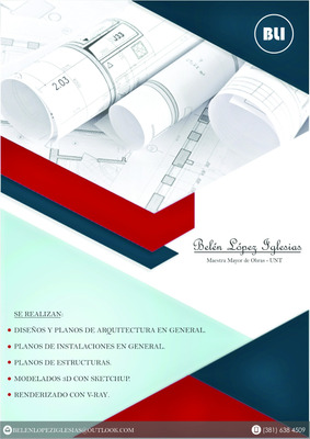 Planos De Arquitectura - Cadista - Diseñadora