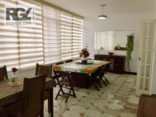 Apartamento À Venda, 251 M² Por R$ 949.000,00 - Gonzaga - Santos/sp - Ap4640