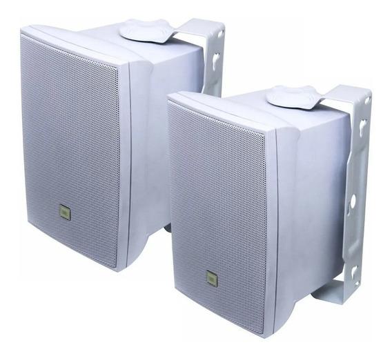 Caixa Som Ambiente Jbl Selenium C321 Par Branco C321b 50w