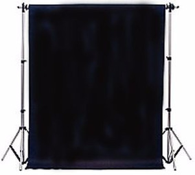 1 Tecido 3x8 Preto Fundo Infinito Estudio Fotografico Foto